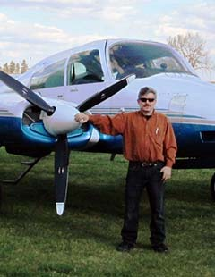 Mike with Cessna 310